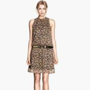 H&M HALTER MINI DRESS sz 4 B907